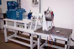 Leistungspruefung eines Getriebemotors am RE-POWER Pruefstand