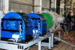 LPS 5000 LK im Probelauf mit Drehstrom-Hochspannungsmotor